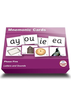 Mnemonic Cards - Phase 5 (Letters and Sounds)