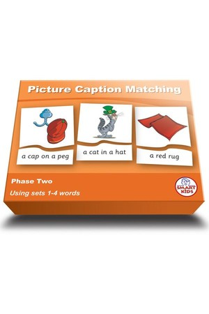 Picture Caption Matching (Set 1) – Phase 2 (Letters and Sounds)