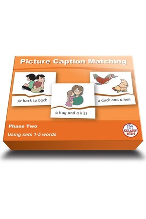 Picture Caption Matching (Set 2) – Phase 2 (Letters and Sounds)