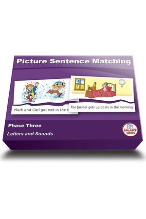 Picture Sentence Matching (Set 2) – Phase 3 (Letters and Sounds)