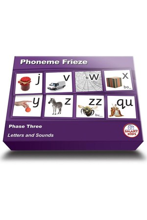 Phoneme Frieze - Phase 3 (Letters and Sounds)