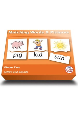 Matching Words & Pictures - Phase 2 (Letters and Sounds)