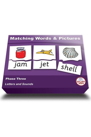 Matching Words & Pictures - Phase 3 (Letters and Sounds)
