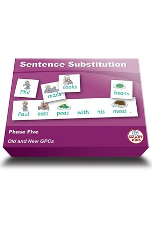 Sentence Substitution (Set 1) – Phase 5 (Letters and Sounds)