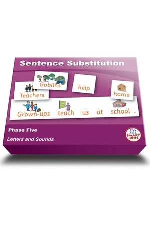 Sentence Substitution (Set 2) – Phase 5 (Letters and Sounds)
