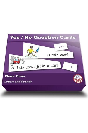 Yes/No Question Cards - Phase 3 (Letters and Sounds)
