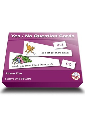 Yes / No Question Cards – Phase 5 (Letters and Sounds)