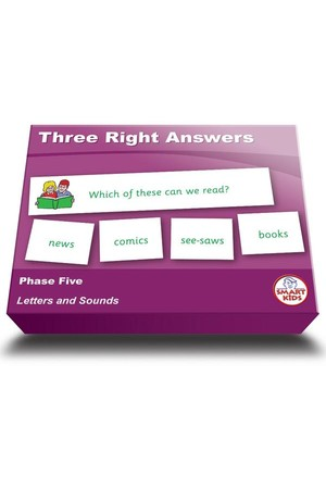 Three Right Answers - Phase 5 (Letters and Sounds)