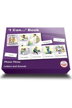 I Can... Book - Phase 3 (Letters and Sounds)
