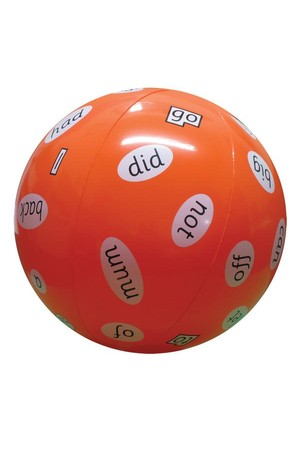 High Frequency Word Ball – Phase 2 (Letters and Sounds)