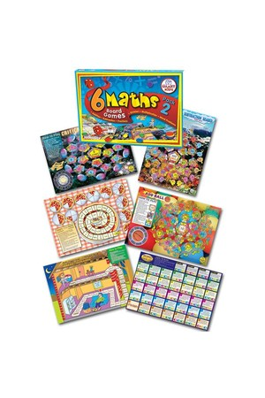 Maths Board Games - Pack 2