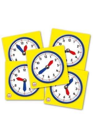 Student Clocks - Set of 5