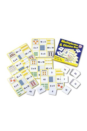 Multiplication & Division Bingo - Level 1