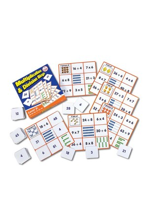 Multiplication & Division Bingo - Level 2