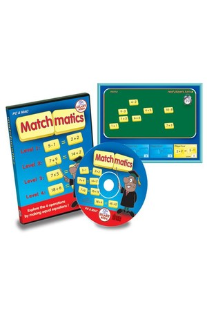 Matchmatics CD-ROM – Multi-User Licence
