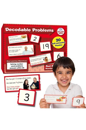 Decodable Word Problems to 20 (Number Smart)