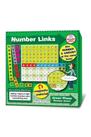 Magnetic Number Links to 100 (Number Smart)