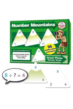 Number Mountains Times Tables 2, 5 and 10 (Number Smart)