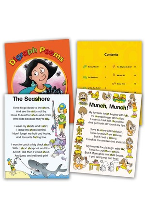 Digraph Poems Book
