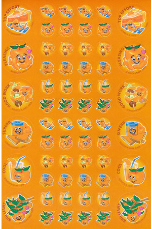 ScentSations Mandarin Stickers
