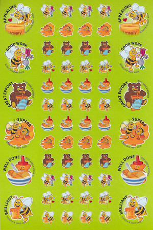 ScentSations Honey Stickers