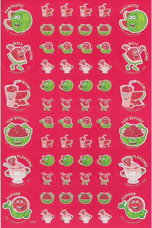 ScentSations Watermelon Stickers