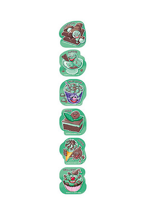 ScentSations Chocolate Mint Stickers