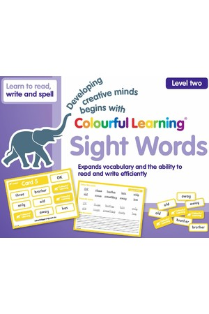Colourful Learning - Sight Words (Level Two)