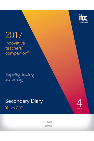 2017 Innovative Teachers' Companion - Secondary (4-Period)