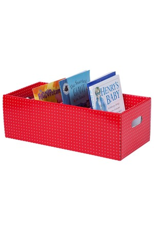 Tote Box - Red