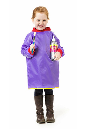 Painting Smock Toddler - Purple (Open-Back)