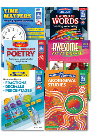 Australian Curriculum BLM Super Pack 2 - Year 6