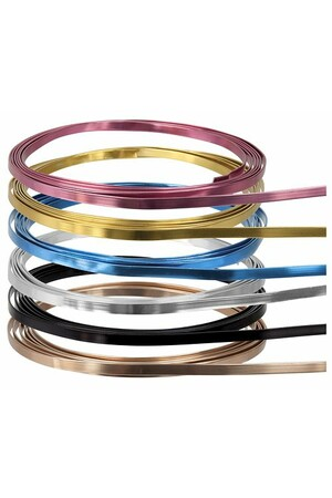 Armature Wire - Flat: Assorted Colours (12m)