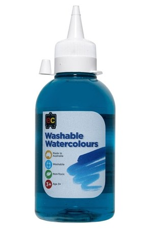 Washable Watercolour 250ml - Turquoise