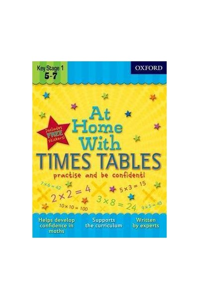 At Home With - Ages 5-7: Times Tables