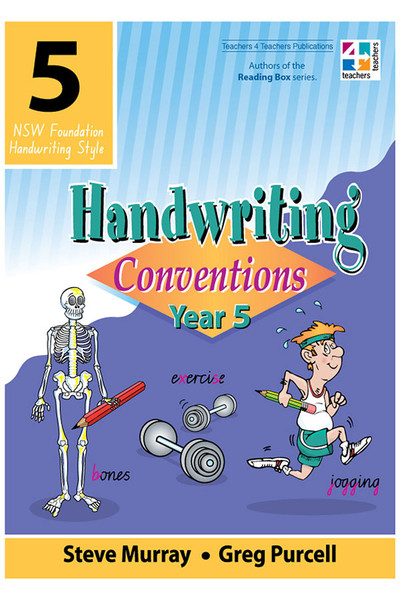 Handwriting Conventions - NSW: Year 5