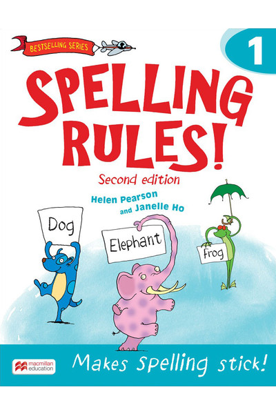 Spelling Rules! - Second Edition: Student Book 1