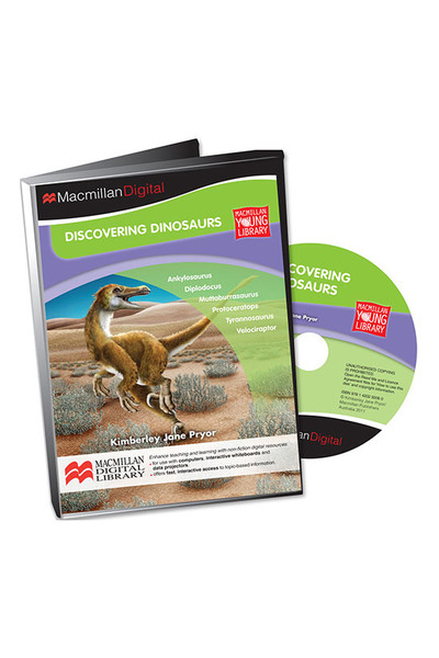 Thinking Themes - Discovering Dinosaurs: Digital Books (CD Pack)