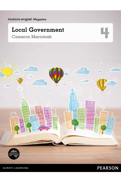 Pearson English Year 4: Local Government - Student Magazine