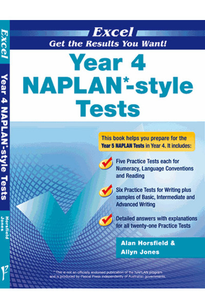 Excel - NAPLAN* Style Test: Year 4