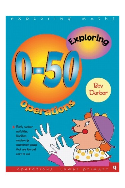 Exploring Maths - Numbers 0-50: Operations