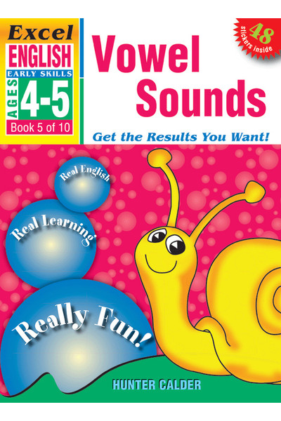 Excel Early Skills - English: Book 5 - Vowel Sounds