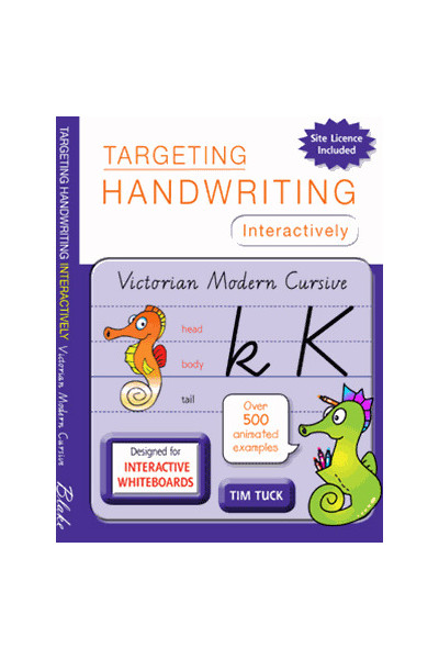 Targeting Handwriting Interactively - Victorian Modern Cursive: Less than 200 Students