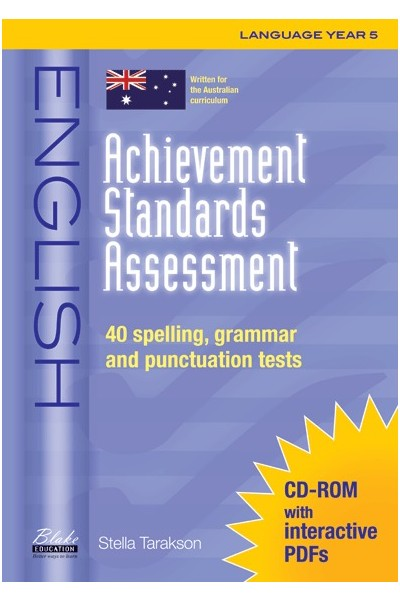 Achievement Standards Assessment - English: Language - Year 5