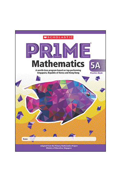 PRIME Mathematics International Edition - Practice Book: 5A (Year 5)