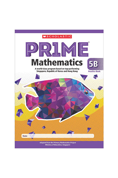 PRIME Mathematics International Edition - Practice Book: 5B (Year 5)