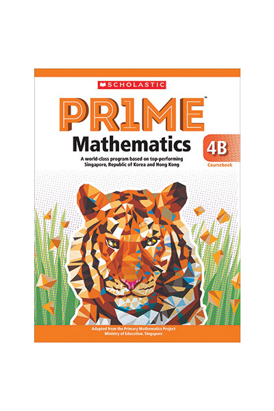 PRIME Mathematics  International Edition - Coursebook: 4B (Year 4)