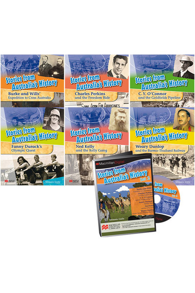 Stories from Australia's History - Set 2: Hardback & Digital Pack