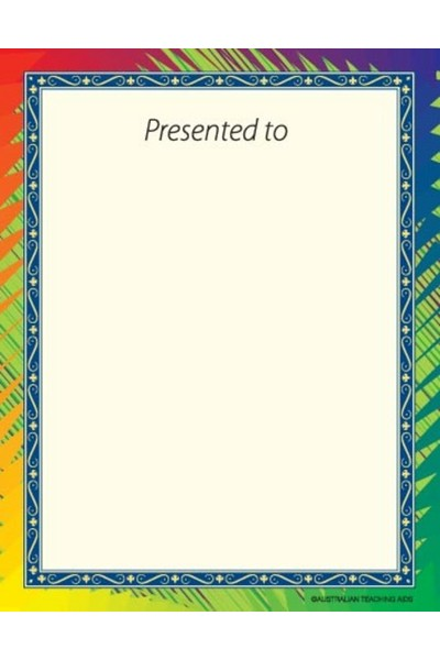 Informal Presentation Bookplate - Large Bookplates