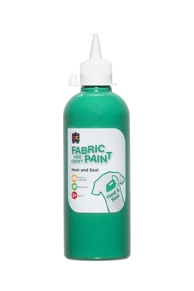 Fabric And Craft Paint 500ml - Forest Green